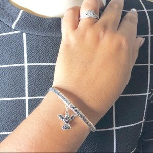 Jewelry - Daughter Stretchable Bracelet Silver